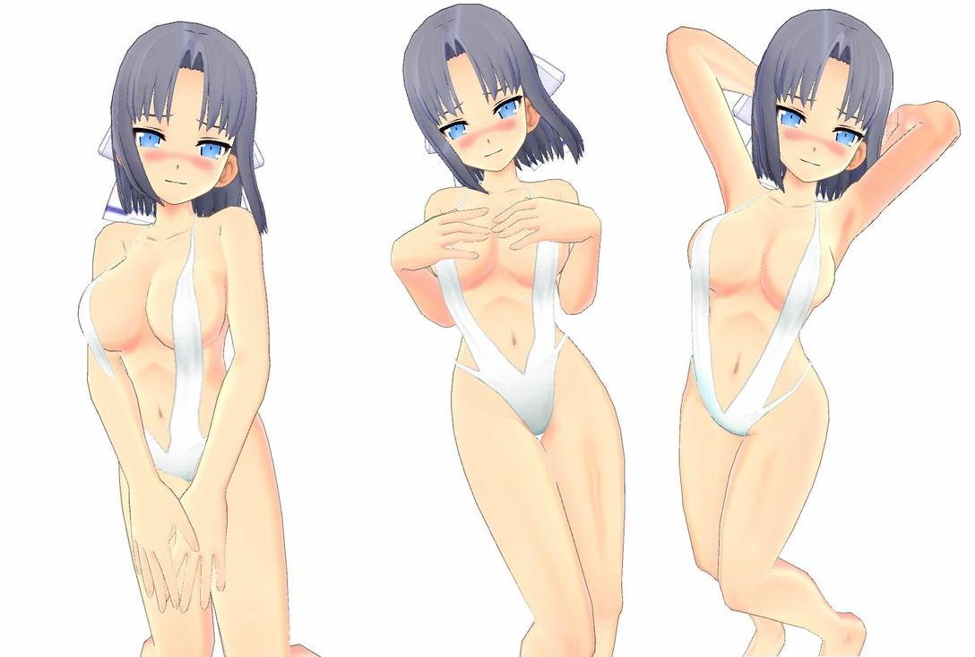 Senran Kagura Yumi's sexy photo shoot by desmondlogan
