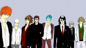 Bleach Guys by arfie-chan