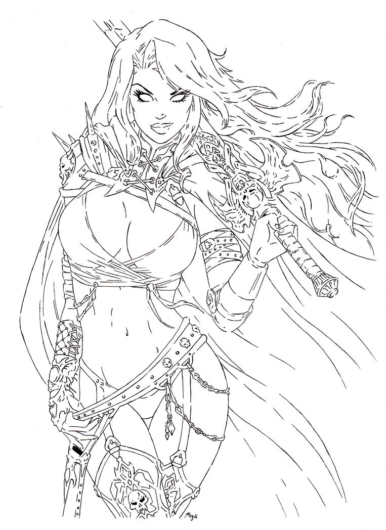 LadyDeath by Mark247Gamer