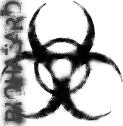 Simple Biohazard Logo