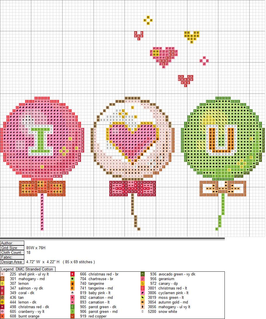 ILY Balloons XStitch Pattern by niakane