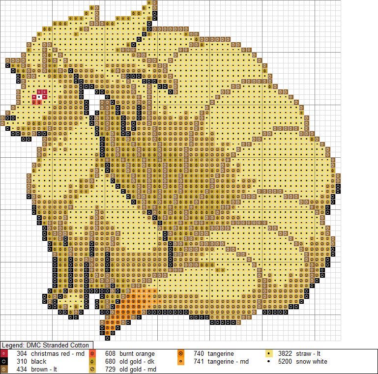 Ninetails XStitch Pattern by niakane