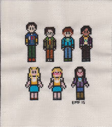 Big Bang Theory Cast by niakane