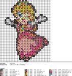 Peach XStitch Pattern 2