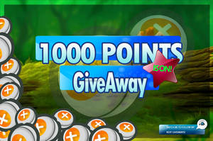 1000 POINTS GIVEAWAY
