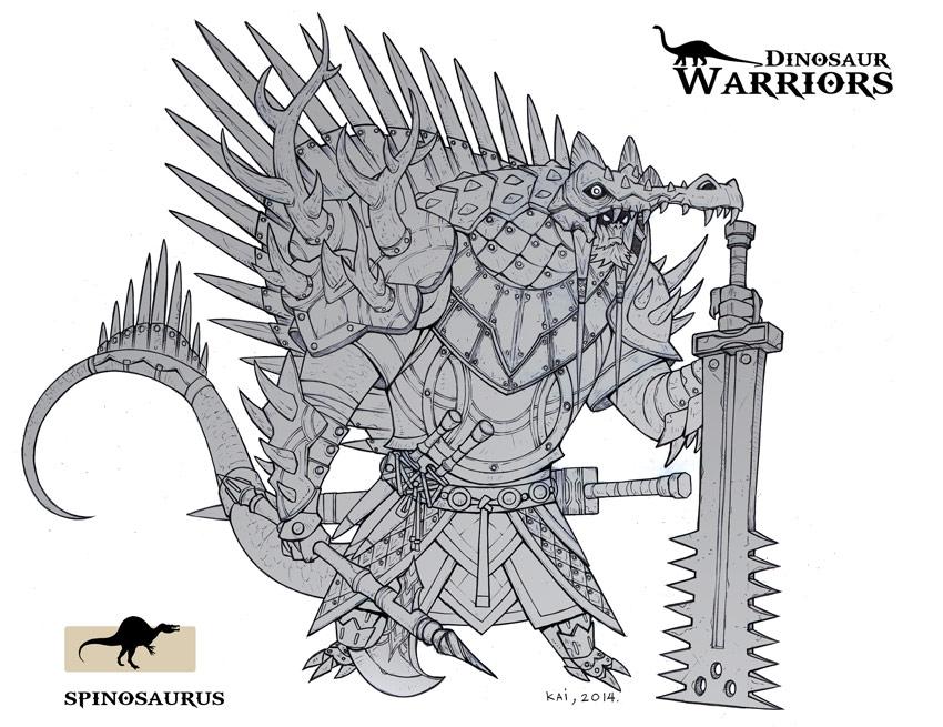 Dinosaur-Warrior-Spinosaurus by kaianimator on DeviantArt