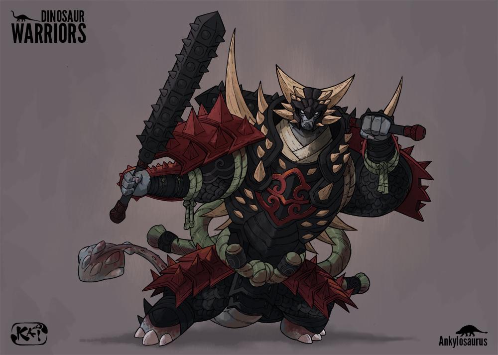 Image Gallery dino warriors
