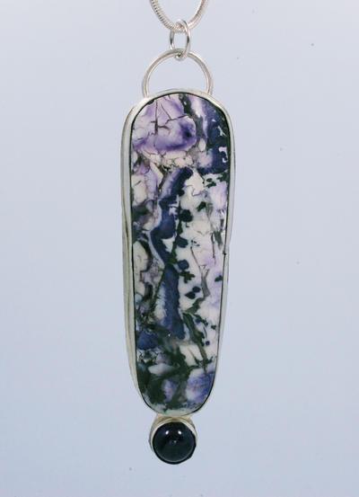 Purple Jasper Pendant by stepbrown