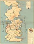 Steampunk Westeros Map