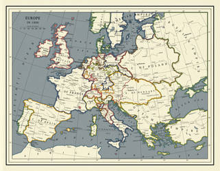Where Hearts Were Entertaining June: Europe 1800 by ToixStory