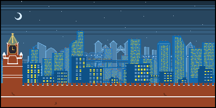 Moscow 1991 Pixel Art by ToixStory