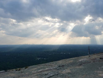 View from Stone Mountain by ToixStory
