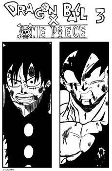 DRAGON BALL X ONE PIECE CHAPTER 3