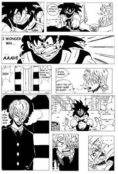 DRAGON BALL X ONE PIECE - PAGE 6 (REMASTERED)