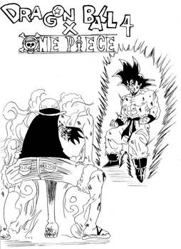 DRAGON BALL X ONE PIECE CHAPTER 4