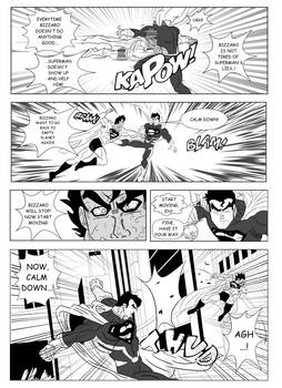 Page4 - Son Goku and Superman: The Clash