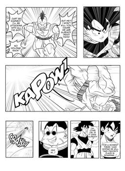 Page8 - Son Goku and Superman: The Clash