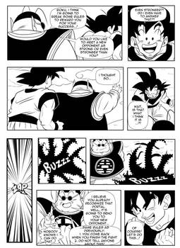 Page9 - Son Goku and Superman: The Clash