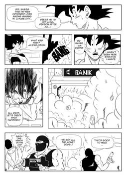 Page11 - Son Goku and Superman: The Clash