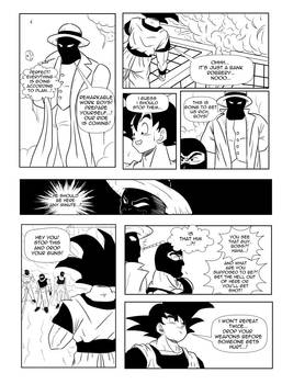 Page12 - Son Goku and Superman: The Clash
