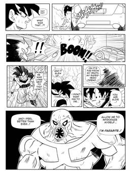 Page18 - Son Goku and Superman: The Clash
