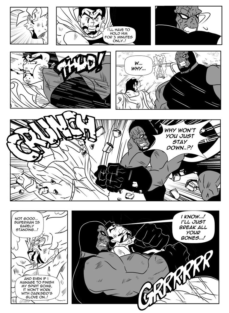 page166 son goku and superman the clash by einstein001