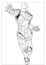 Iron Man by Einstein001