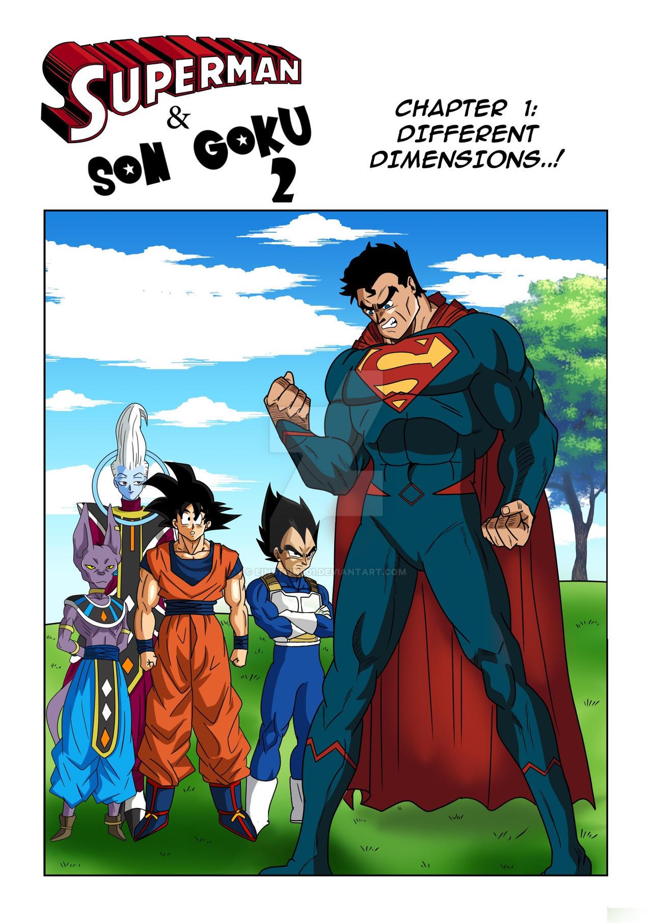 [Fan Manga] Son Goku and Superman 2 • Kanzenshuu