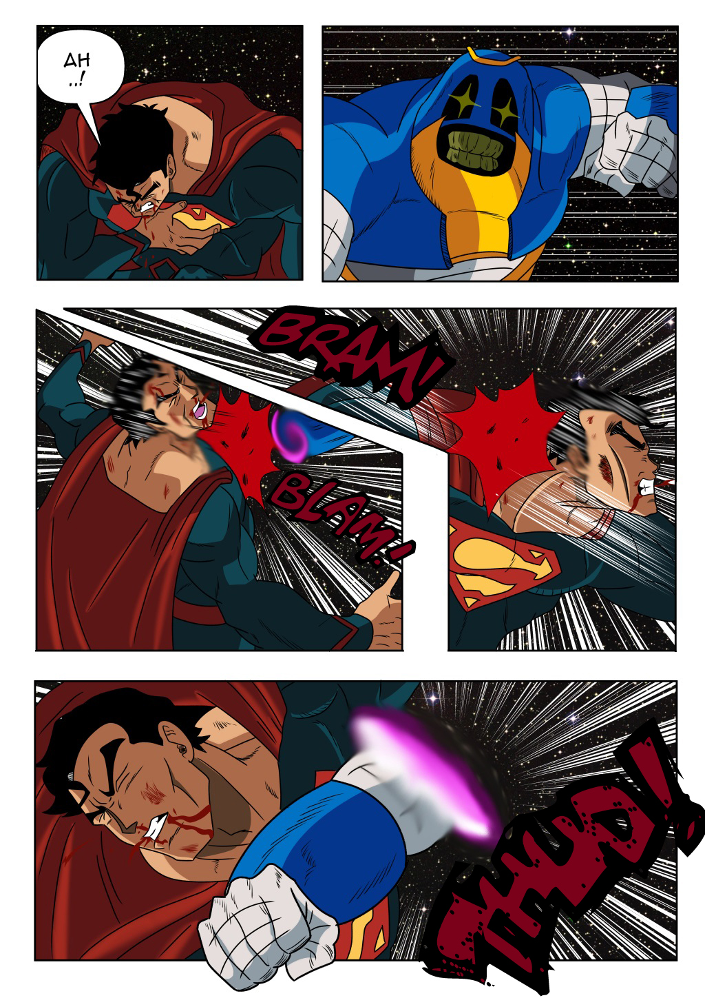 Page4 Son Goku And Superman 2 By Einstein001 On Deviantart