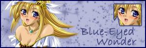 Blue-Eyed Wonder by Inu-Tiffy
