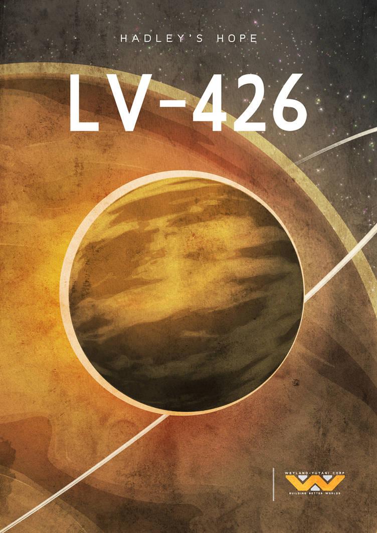 LV-426 (Alien poster) by MrShabbaUK