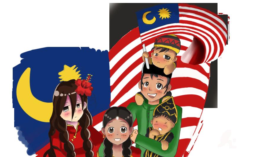 1 Malaysia _-_ MERDEKA by Eziara