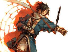 young samurai by cellar-fcp