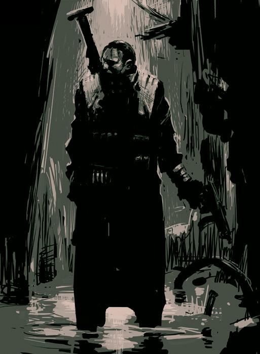 Anya Kovalik :: Commander Grievens. Dark_man_by_cellar_fcp