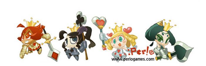 Sad princess characters