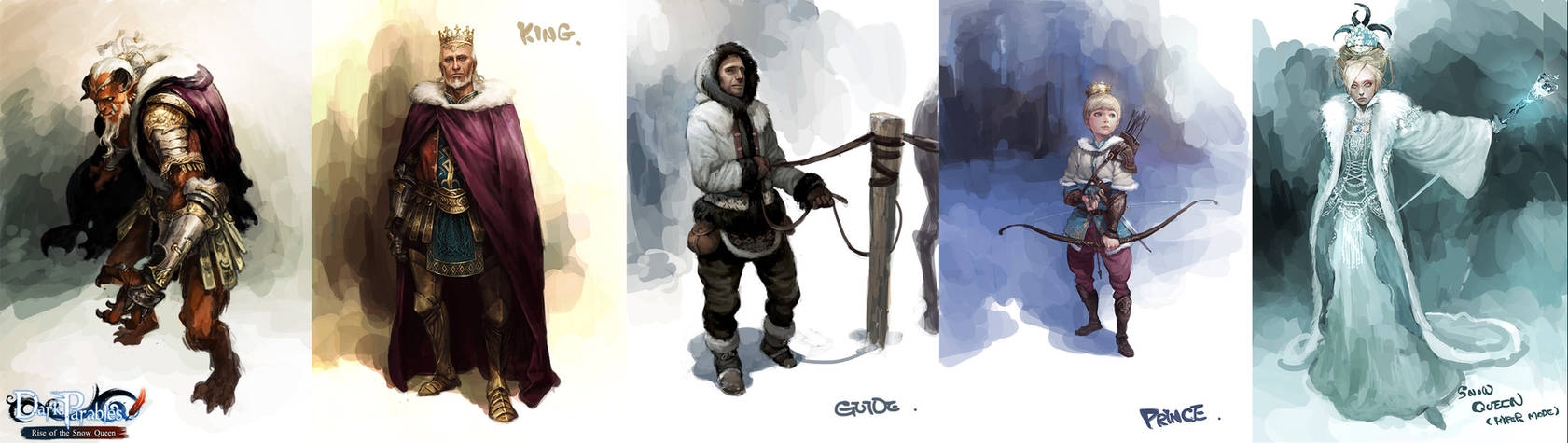 My works in Character Design