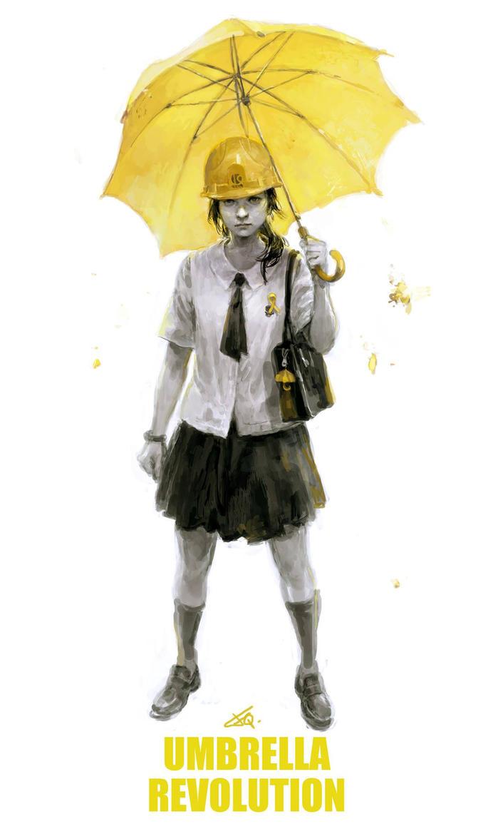 Umbrella Revolution by cellar-fcp