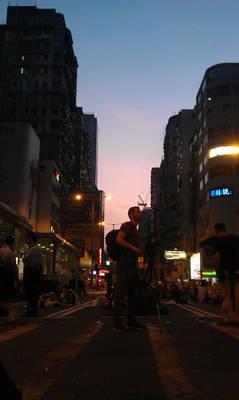 day 8 of occupy Mong Kok