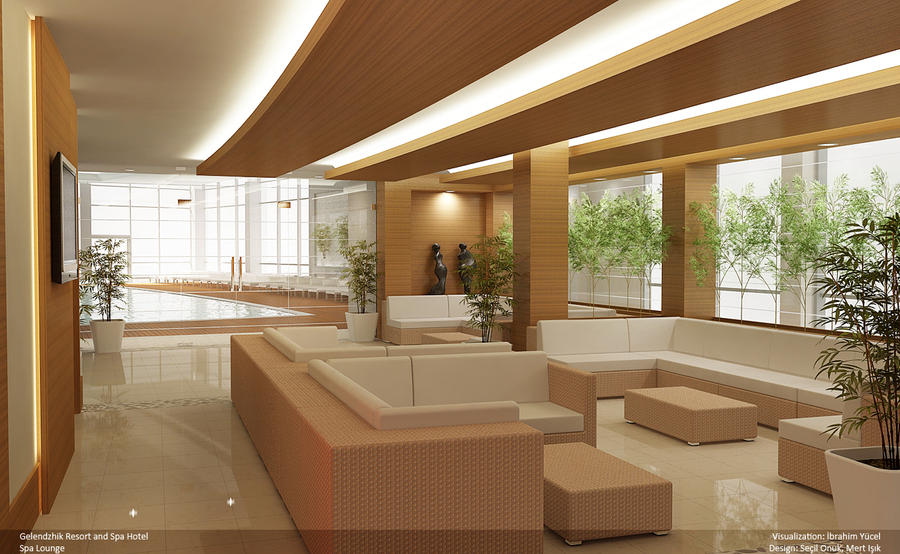 Gelendzhik hotel spa lounge by iyucel on deviantart for Salon lounge