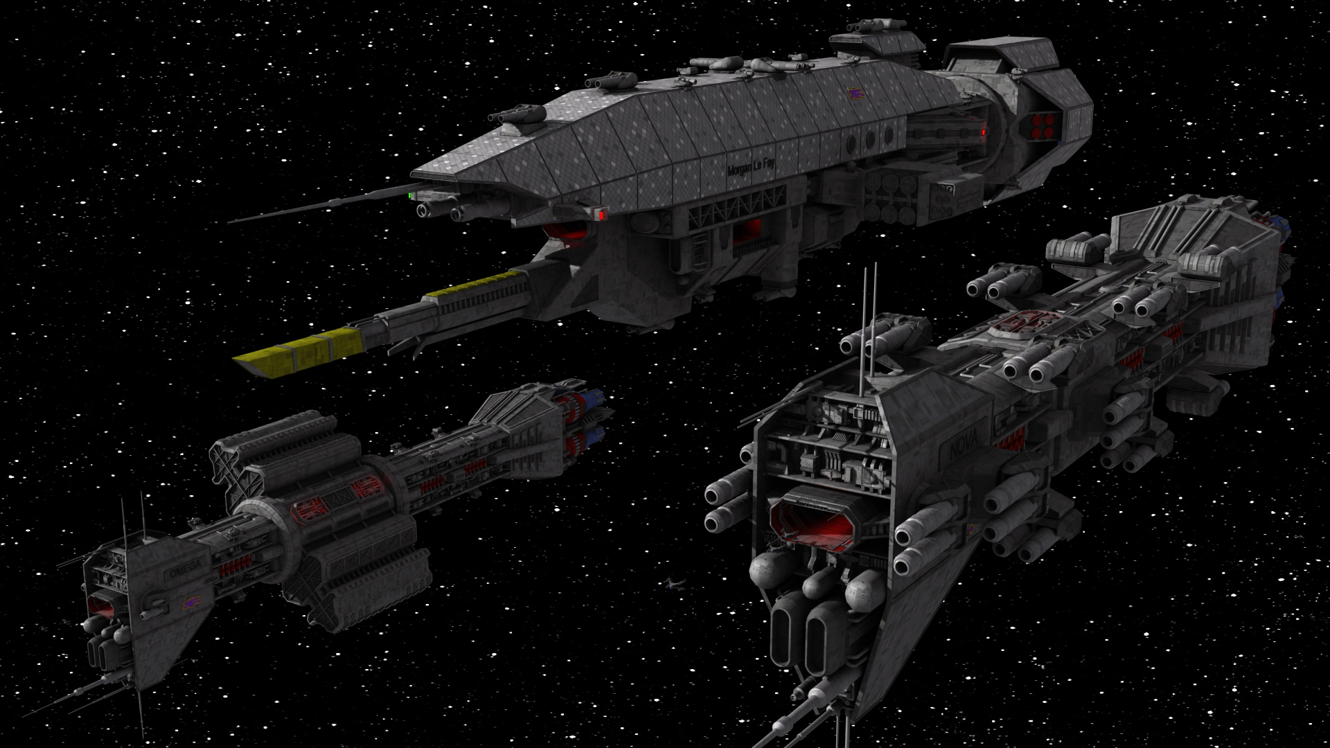 What Space Battleship Design You Consider The Most