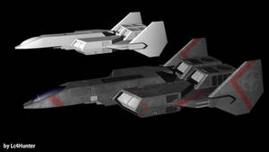 F-103 Excalibur - Heavy Fighter by Lc4Hunter