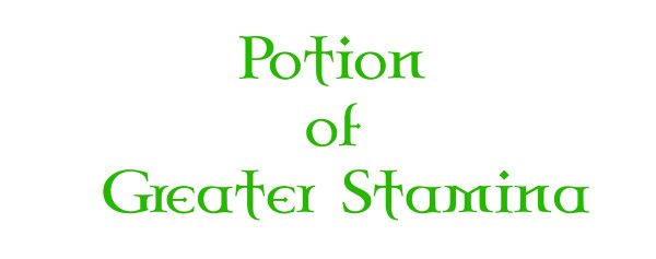 Potion of Greater Stamina MUG by different-strokes