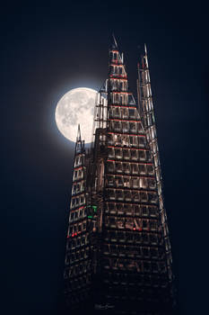 The Shard and The Moon