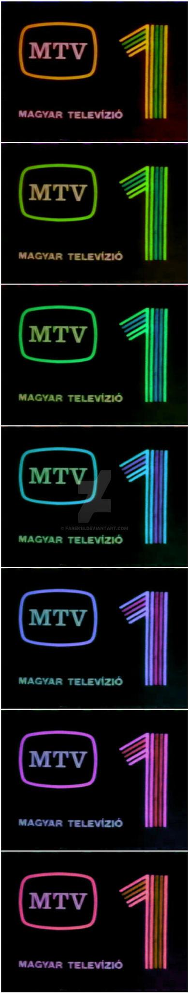 MTV 1 logo color variation #01 by farek18