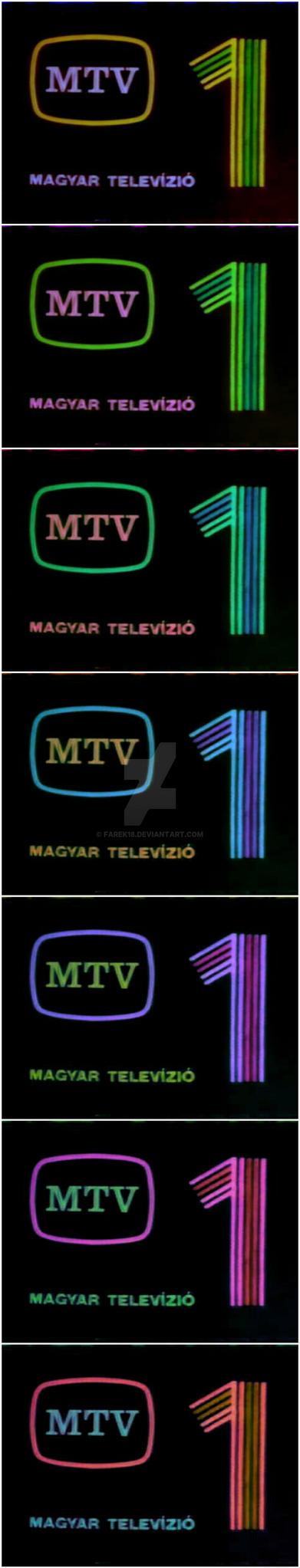 MTV 1 logo color variation #02 by farek18