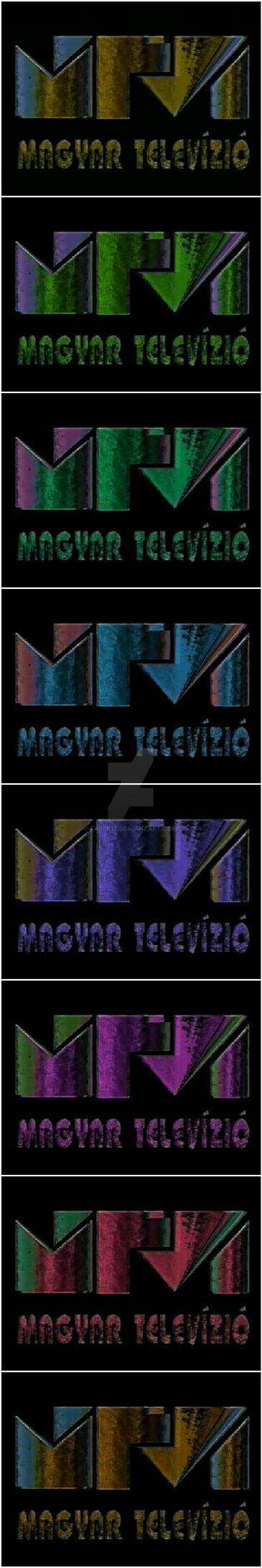 Mtv logo 94 color variation #01 by farek18