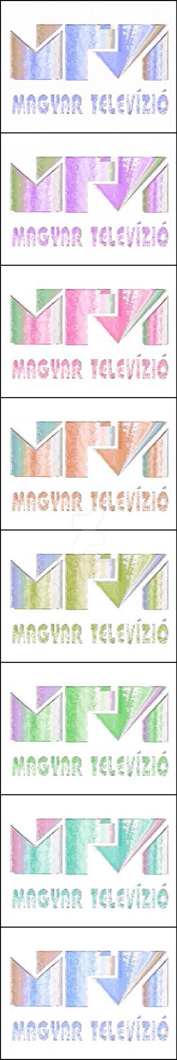 Mtv logo 94 negative color variation #01 by farek18