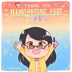 Thank You Illustrators' Fest 2021
