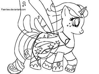 Com: Ponysona Tertia: Aerie by Astirea