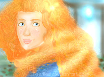 Merida The Brave by Astirea